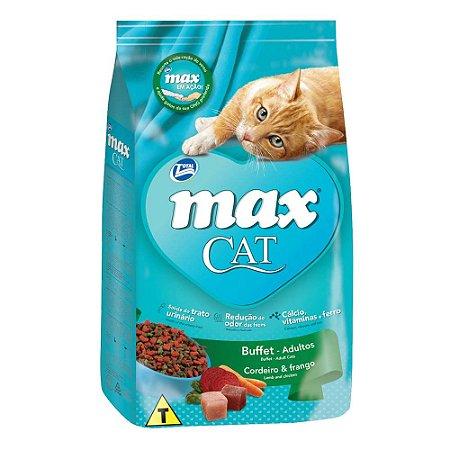 Ração Max Cat Buffet Para Gatos Adultos 1kg