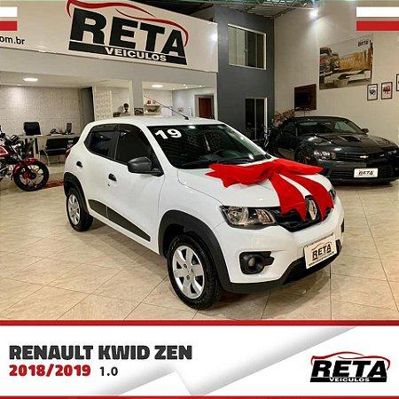 🚗 Renault Kwid Zen 1.0 - 18/19 🚗