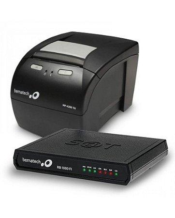 Kit Bematech Combo (Sat Fiscal RB-100 FI + Impressora MP-4200 TH USB) - Bematech