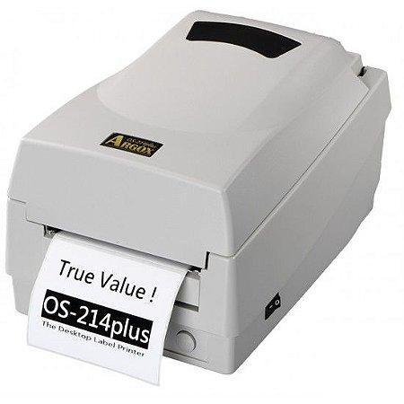 Impressora de Código de Barras PPLA OS-214 PLUS - TT TD 203 DPI - Argox