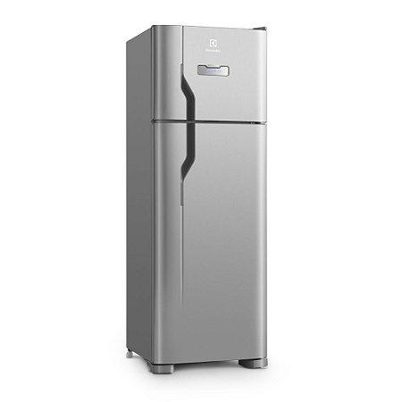 Refrigerador Electrolux Duplex DFX39 Frost Free com Painel Blue Touch e Espaço Extra Frio 310 L - Inox