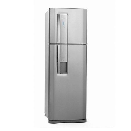 Geladeira Electrolux Frost Free Duplex DW42X c/ Dispenser de Água e Controle de Temperatura Blue Touch - 380 L - Inox
