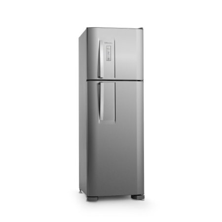 Refrigerador Electrolux DFX42 Frost Free com Painel Blue Touch 370 L - Inox  [0,1,0]
