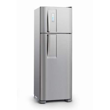 Geladeira Electrolux Frost Free Duplex DF36X c/ Controle de Temperatura Blue Touch - 310 L - Inox