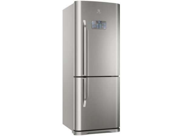 Refrigerador Electrolux Bottom DB53X Frost Free com Painel Blue Touch 454L - Inox  [0,1,0]