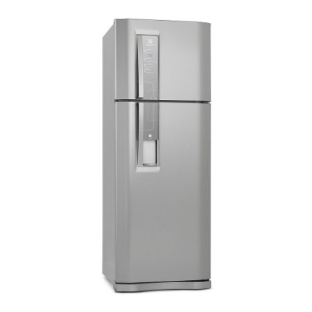 Refrigerador Electrolux DW52X Frost Free com Painel Blue Touch e Dispenser Externo de Água 456L