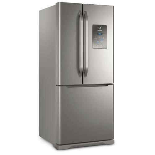 Refrigerador Electrolux Multidoor DM84X Frost Free com Ice Twister 579L - Inox