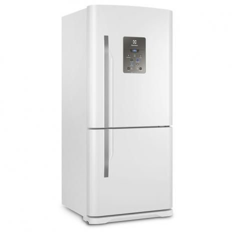 Refrigerador Electrolux Bottom DB84 Frost Free com Painel Blue Touch Branca - 598L