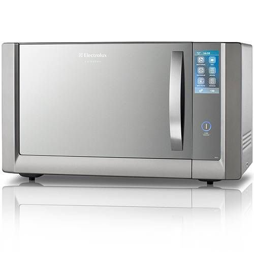 Forno de micro-ondas Electrolux i.Kitchen MTX52 c/ Grill, Timer e Painel Touch Screen - 42 L - Inox