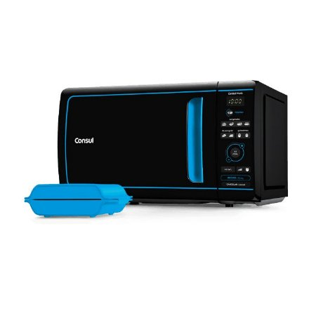 Micro-Ondas Consul Mais 20 Litros com Função Tostex Azul CME20AZANA