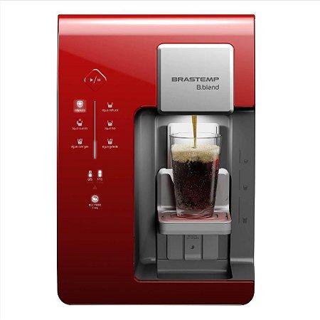 Máquina de Bebidas Brastemp B.blend - Vermelha
