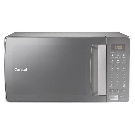 Forno de Micro-ondas Consul CMS45AR com Função Tira Odor Inox Espelhado - 32 Litros