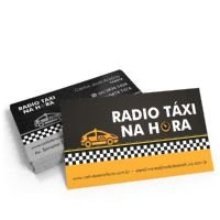 Cartão de Visita Papel Couchet 250 gramas 4x1 Cores 1.500 Unidades