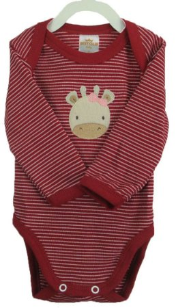 c498250c1 Conjunto de Body e calça nas cores vermelho/branco: Body manga longa e calça