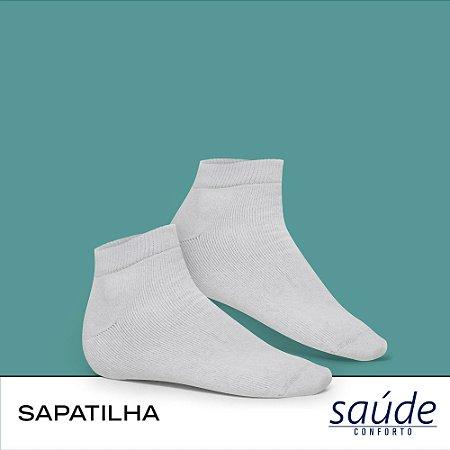MEIA SAPATILHA ESPORTIVA - LINHA SAUDE/CONFORTO
