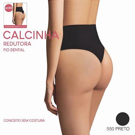 CALCINHA REDUTORA FIO DENTAL (SEM COSTURA)