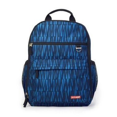 Bolsa Maternidade SKIPHOP ( Diaper Bag) Duo Signature - Backpack (Mochila) Blue Graffiti