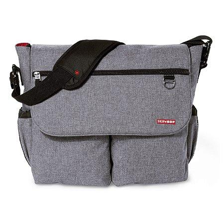 Bolsa Maternidade SKIPHOP (Diaper Bag) Dash Signature Heather Grey