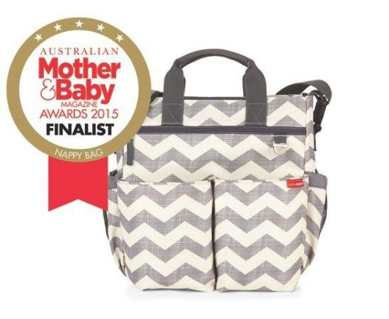 Bolsa Maternidade SKIPHOP (Diaper Bag) Duo Signature Chevron