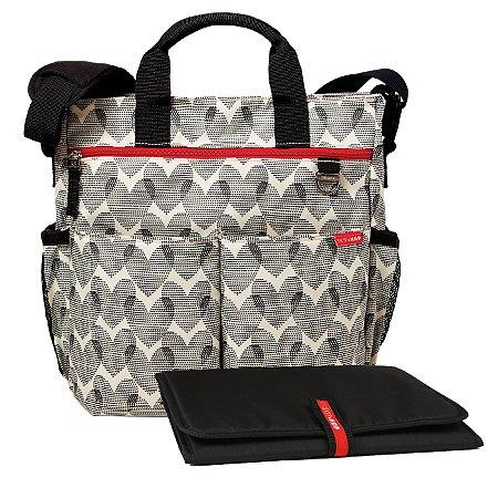 Bolsa Maternidade SKIPHOP (Diaper Bag) Duo Signature Hearts ******ULTIMA UNIDADE*****