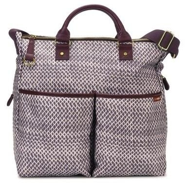 Bolsa Maternidade SKIPHOP (Diaper Bag) - Duo Limited Edition - Plum Sketch