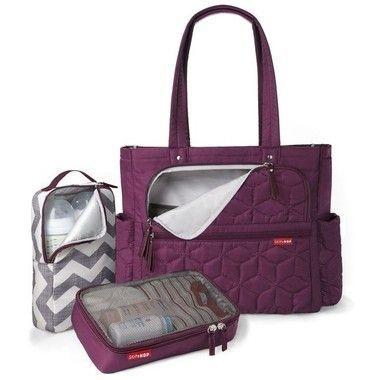 Bolsa Maternidade (Diaper Bag) Forma Pack&Go - Berry