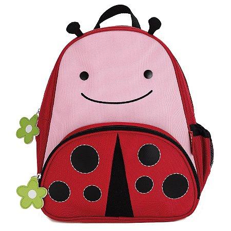 Mochila Skip Hop - Linha Zoo - Coleção Joaninha (Ladybug)