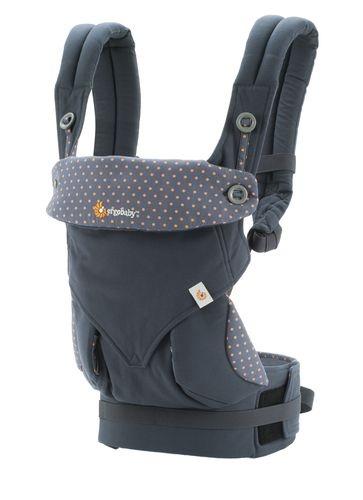 Canguru - Baby Carrier Ergobaby - Coleção 360 - Dusty Blue   ************ O Canguru queridinho ************
