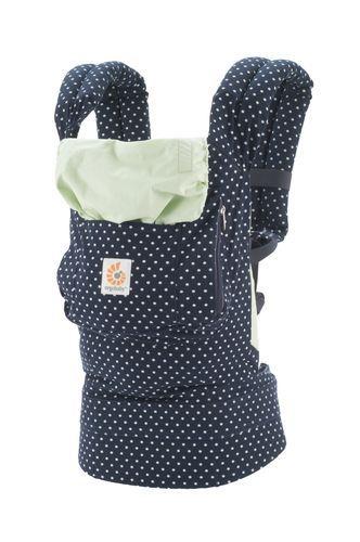 Canguru - Baby Carrier Ergobaby - Coleção Original - Indigo Mints Dots  ************** muito bonito !!!!