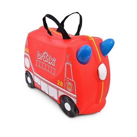 Mala Infantil Trunki - Bombeiro Frank - Sua viagem muito mais divertida - cor Vermelho