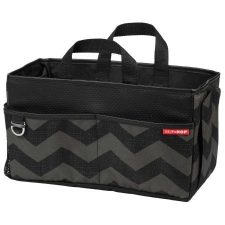 ULTIMA UNIDADE!!! Bolsa Organizadora Car Storage Box Skiphop On-The-Go Drive - Tonal Chevron - A sacola perfeita para o carro !