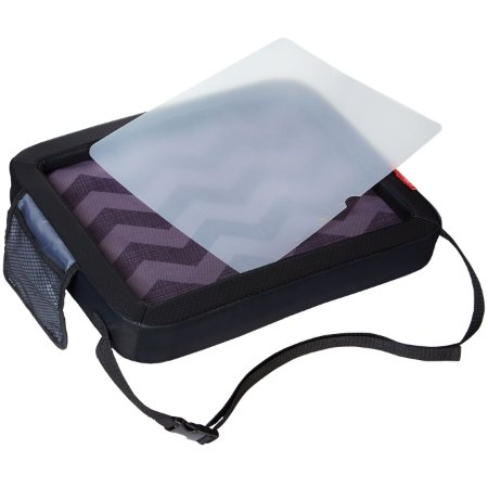Bandeja Multiatividades Travel Activity Tray Skiphop On-The-Go Drive - Tonal Chevron