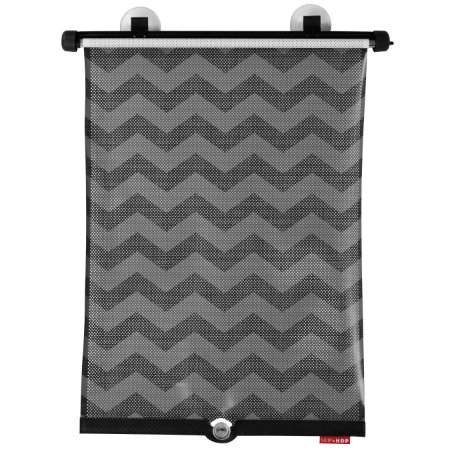 Protetor Solar Window Shade Skiphop On-The-Go Drive - Tonal Chevron - Seu bebe protegido do sol !!!! ( Contem 2 unidades)