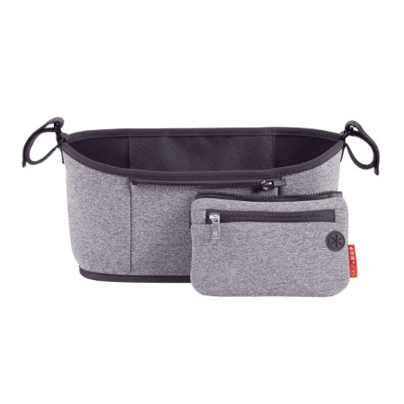 Bolsa para carrinho SKIPHOP (On The Go) Stroller Organizer Heather Grey- Ultra pratica