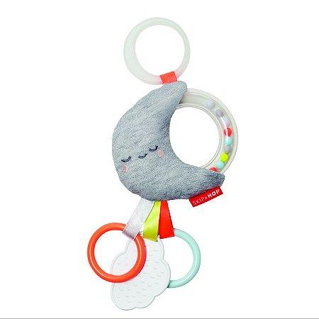 Brinquedo Skip Hop - Linha On-The-Go -  Pendure no carrinho do seu bebê - Lua