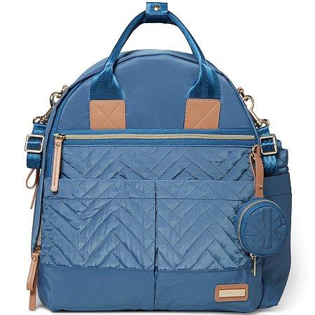 Bolsa Maternidade SKIPHOP (Diaper Bag) - Suite Backpack 6 Peças - Dusky Blue