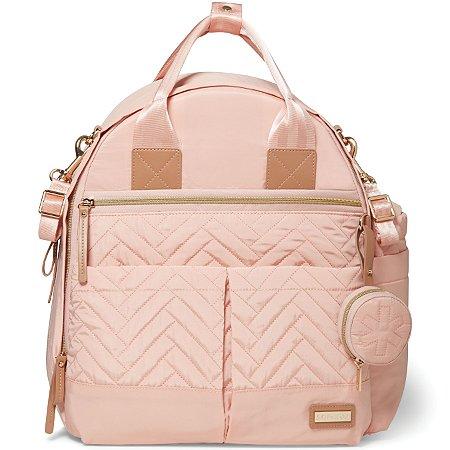 Bolsa Maternidade SKIPHOP (Diaper Bag) - Suite Backpack 6 Peças - Blush