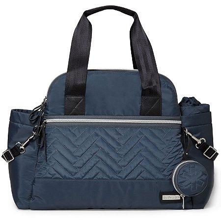 Bolsa Maternidade SKIPHOP (Diaper Bag) -Suite Satchel Set 6 Peças - Steel Grey