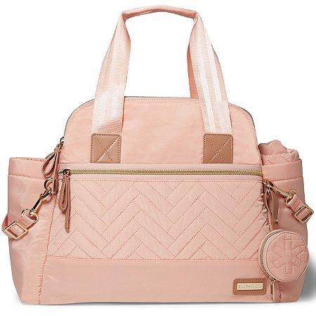Bolsa Maternidade SKIPHOP (Diaper Bag) -Suite Satchel Set 6 Peças - Blush