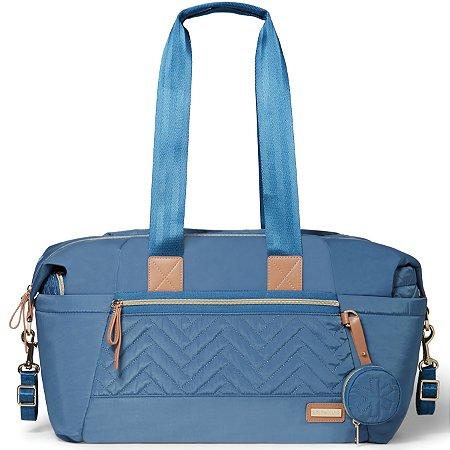 Bolsa Maternidade SKIPHOP (Diaper Bag) - Suite Tote Set 7 Peças - Dusk Blue