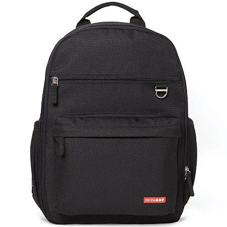 Bolsa Maternidade Skip Hop - Coleção Duo Signature - Backpack (Mochila) Cor Black