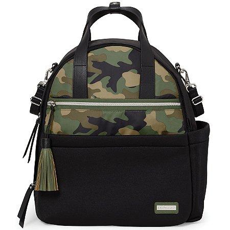 Bolsa Maternidade SKIPHOP (Diaper Bag) Nolita Neoprene - Backpack (Mochila) Black Camuflada Skip Hop  ****LANÇAMENTO MUNDIAL****