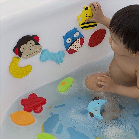 Zoo Banho Skip Hop - Mix & Match - Personagens emborrachados para divertir seu bebê
