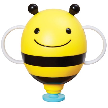 Brinquedo Skip Hop - Linha Banho Zoo - Transforma o brinquedo em uma fonte de água - Abelha Bee