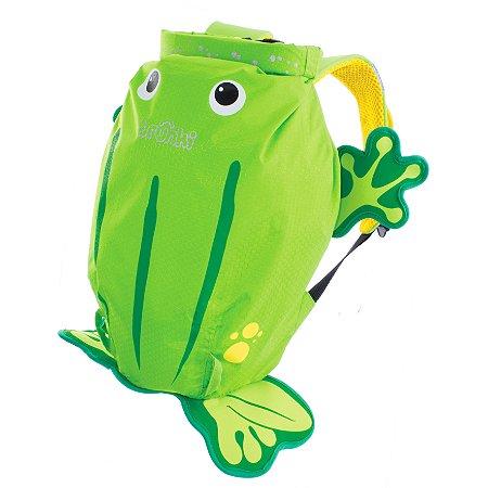 Mochila Infantil Trunki - Modelo PaddlePak - Sapo Ribbit - cor Verde