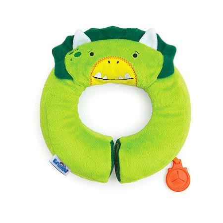Almofada Infantil de Pescoço para Viagens Yondi Trunki - Dudley - O Dinossauro ***NOVIDADE***