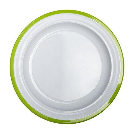 Prato de Treinamento linha Big Kids OXOtot Verde e Branco