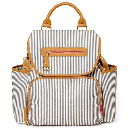 Bolsa Maternidade Skip Hop - Coleção Grand Central Backpack ( Mochila) - French Stripe