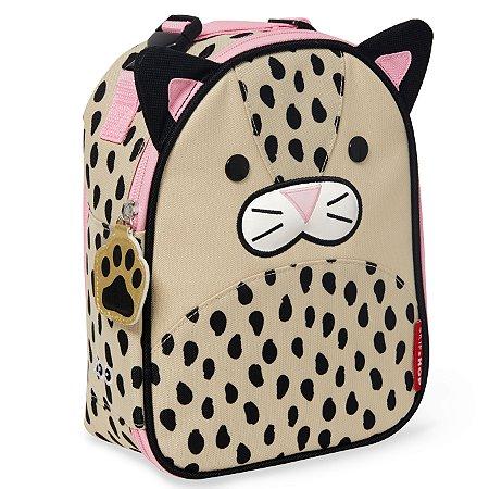Lancheira Infantil Skip Hop - Linha Zoo - Coleção Leopardo