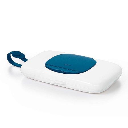 Porta Lenços Umedecidos Wipes Dispenser Oxotot - Azul Marinho